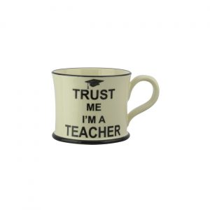 Moorland Pottery Mug Trust Me I'm A Teacher
