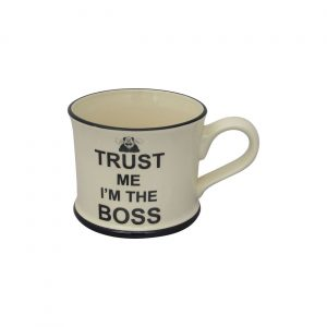 Moorland Pottery Mug Trust Me I'm The Boss