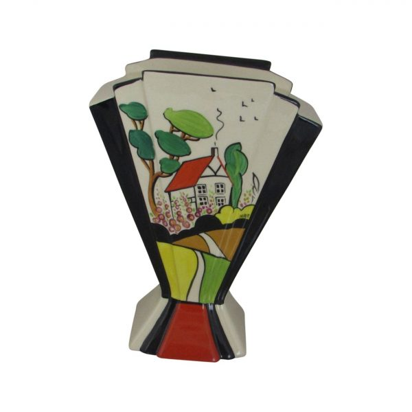 Marie Graves Ceramic Artist Fan Vase Bradbourne House Design