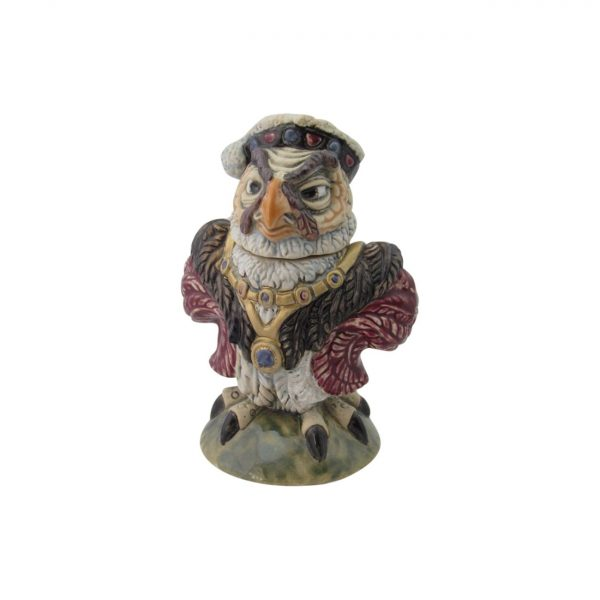 King Henry Vlll Grotesque Bird Burslem Pottery