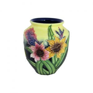 Old Tupton Ware 4 inch Vase Summer Bouquet Design