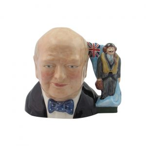 Winston Churchill RAF Toby Jug by Bairstow Pottery