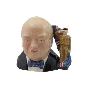 Winston Churchill Army Toby Jug Bairstow Pottery