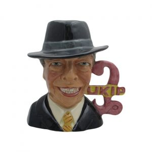 Nigel Farage Character Jug Bairstow Pottery