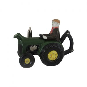 Farm Tractor Teapot Large Size Carters of Suffolk Green Colourway