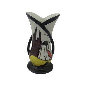 Lorna Bailey House and Path Design Two Handled Vase