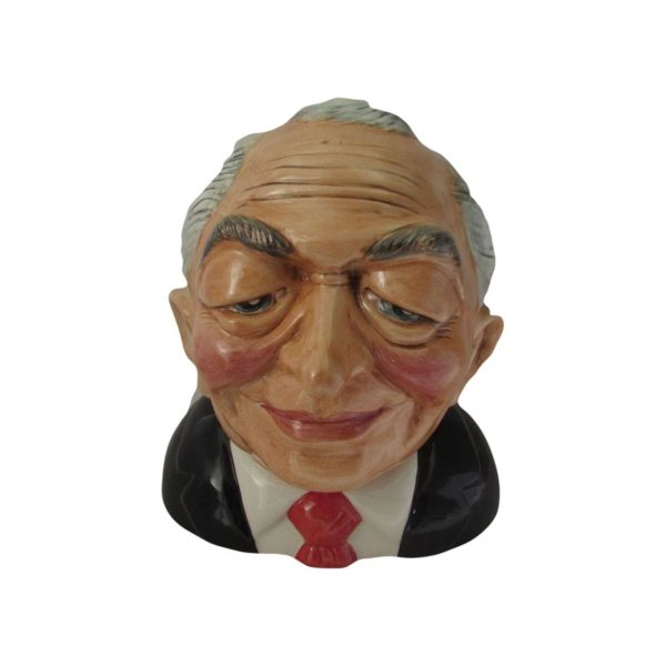 Ken Livingstone Toby Jug - Mayor of London Bairstow Pottery