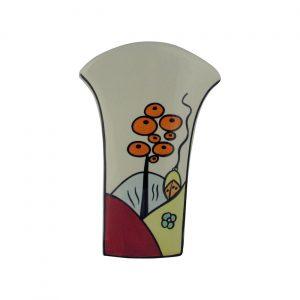 Lorna Bailey Round Top Vase Poolfields Design