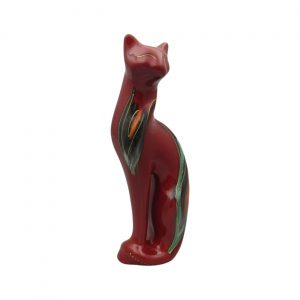 Serene Cat Opulence Design by Anita Harris Art Pottery