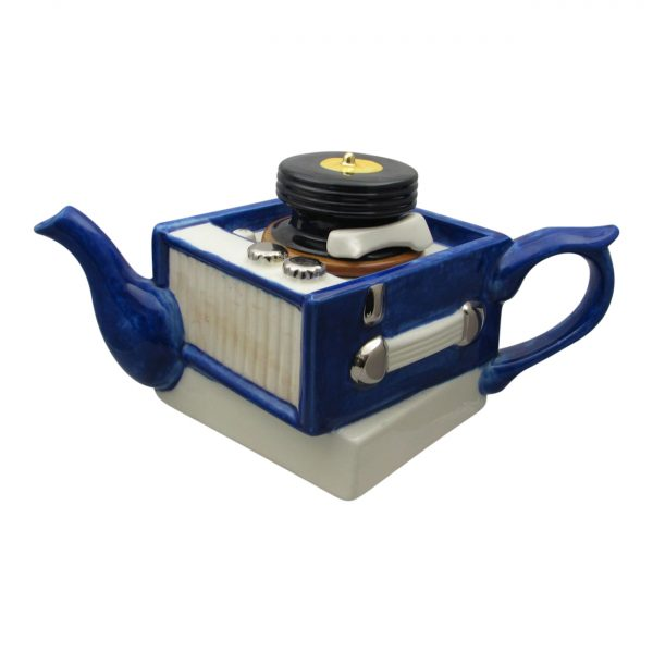 Record Player Teapot Full Size by Carters of Suffolk