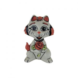 Lorna Bailey Art Ware Pottery Cat St Georges Day