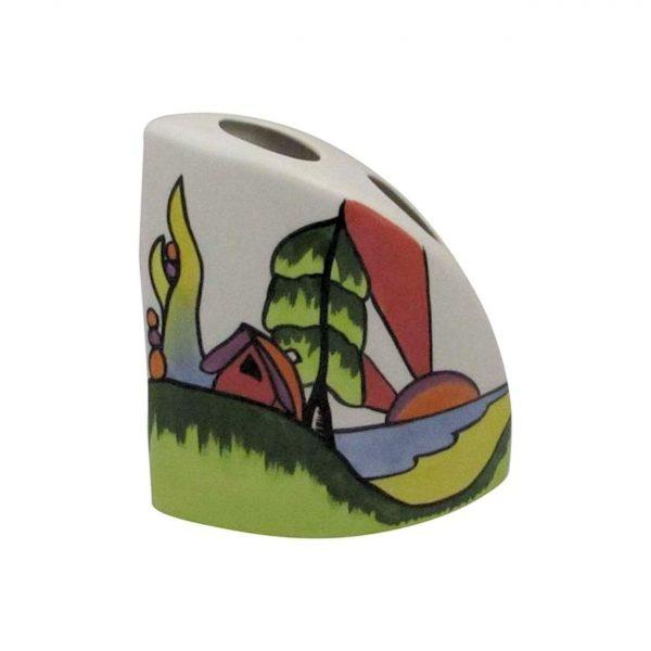 Lorna Bailey Artware Quadrant Vase Westport Design