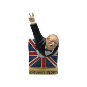 Winston Churchill England Glory Figure Bairstow Pottery