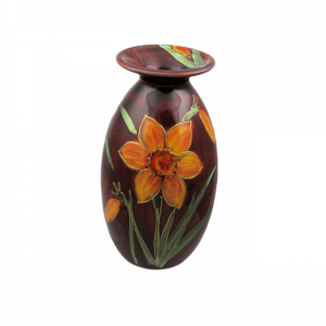 Narcissis Fortune Design Vase by Anita Harris Art Pottery