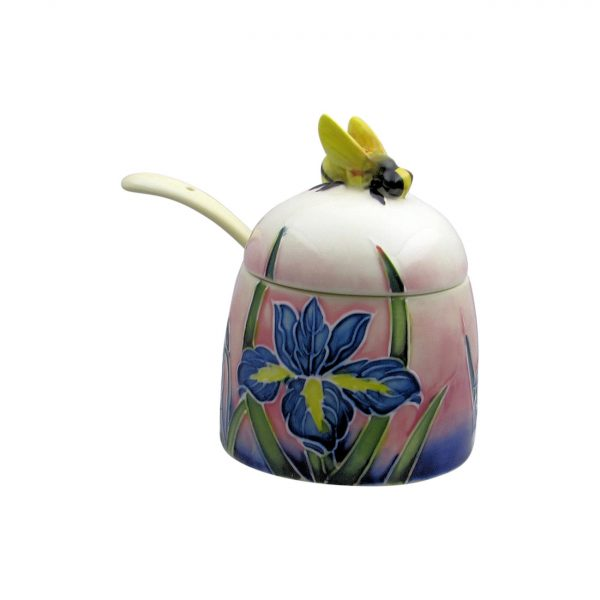 Old Tupton Ware Iris Design Honey Pot