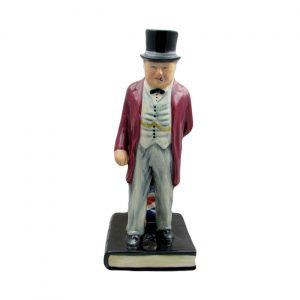 Winston Churchill Politician Figure Bairstow Pottery