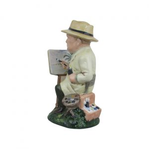 Winston Churchill The Artist Figure Bairstow Pottery
