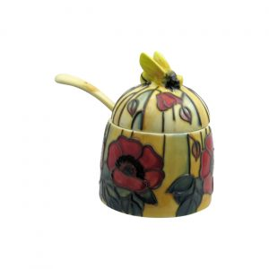 Old Tupton Ware Yellow Poppy Honey Pot