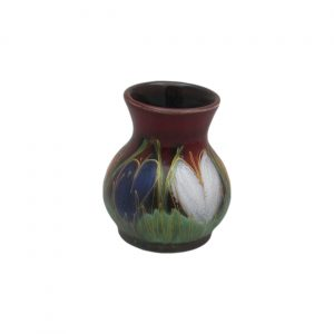 Crocus Design 10cm Vase by Anita Harris Art Pottery