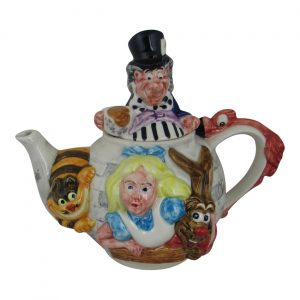 Alice in Wonderland Teapot Paul Cardew Design