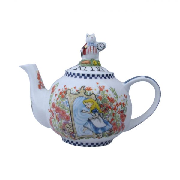 Alice Through The Looking Glass Two Cup Teapot Paul Cardew