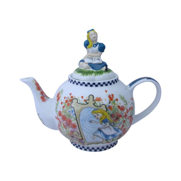 Alice Through The Looking Glass Six Cup Teapot Paul Cardew