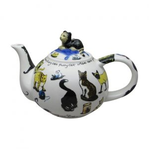 Cat Tea Two Cup Teapot Designed by Paul Cardew