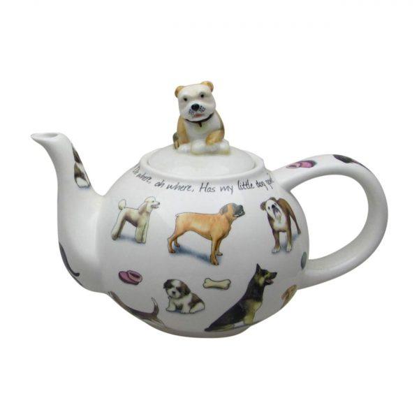 Mans Best Friend Teapot Designed by Paul Cardew