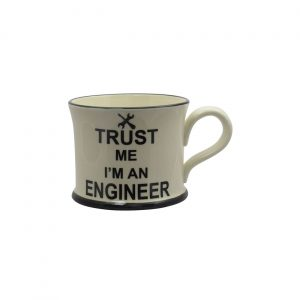 Moorland Pottery Mug Trust Me I'm An Engineer