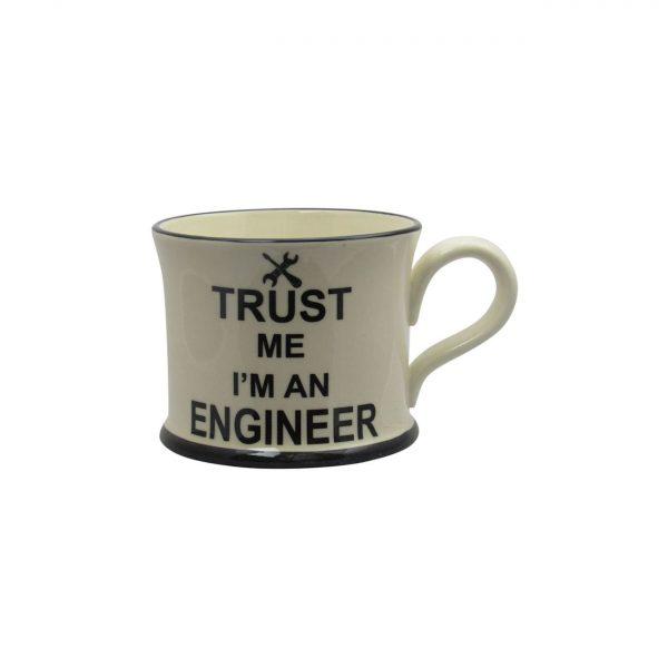 Moorland Pottery Mug Trust Me I'm An Engineer