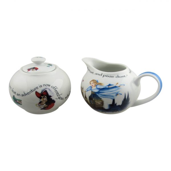 Peter Pan Sugar Basin & Creamer Design by Paul Cardew