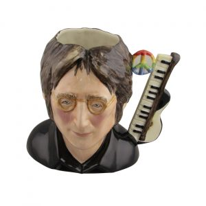 John Lennon Toby Jug Made by Bairstow Pottery