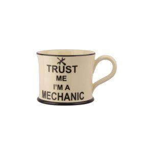 Moorland Pottery Mug Trust Me I'm A Mechanic