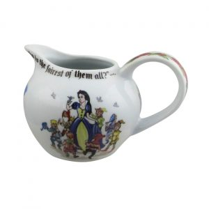Snow White Milk Jug Designed by Paul Cardew