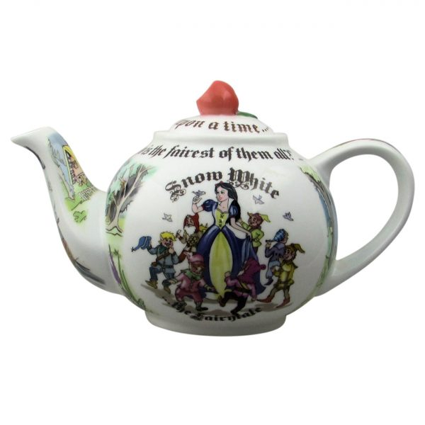 Snow White Teapot ( 2 Cup Size) by Paul Cardew.