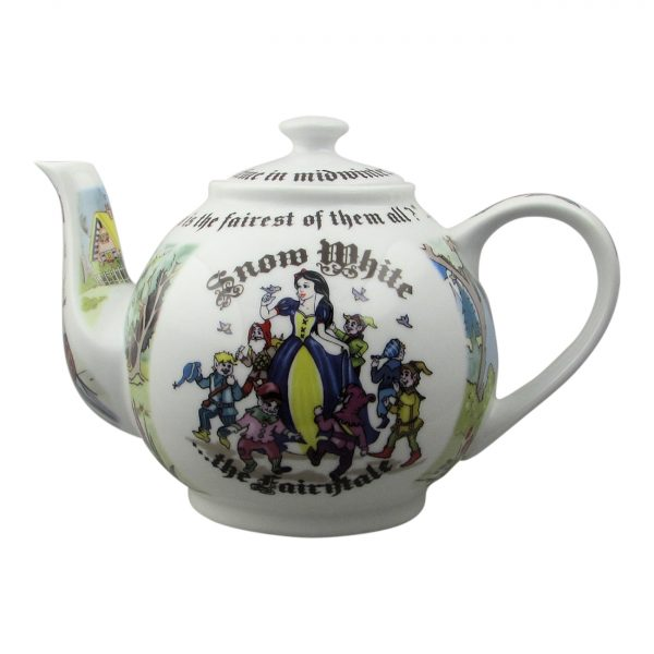 Snow White 4 Cup Teapot Design by Paul Cardew