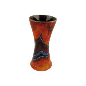 Volcanic Sea Design Vase by Anita Harris Art Pottery