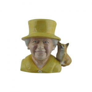 Queen Elizabeth II Toby Jug Produced by Bairstow Pottery
