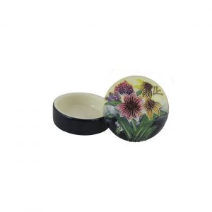 Old Tupton Ware Trinket Box Summer Bouquet Design