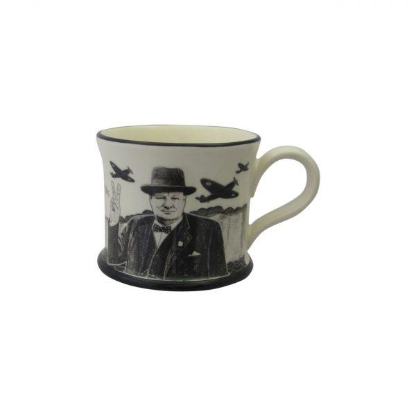 Moorland Pottery Mug We Will Never Surrender Design
