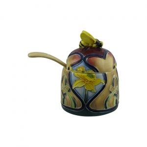 Old Tupton Ware Honey Pot Daffodil Design