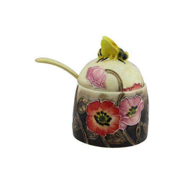 Old Tupton Ware Honey Pot Poppy Fields Design