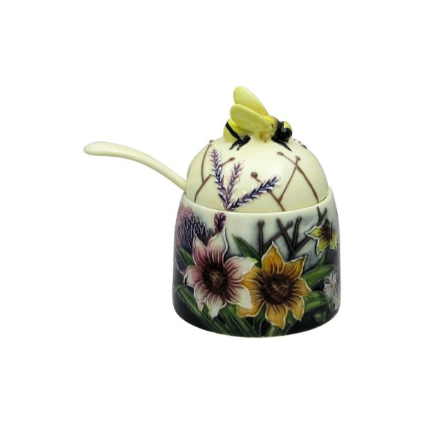 Old Tupton Ware Honey Pot Summer Bouquet Design
