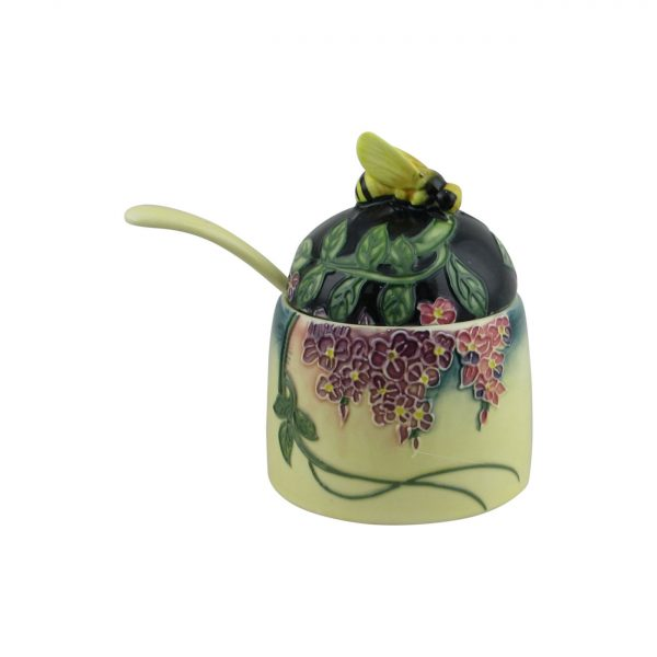 Old Tupton Ware Honey Pot Wisteria Design
