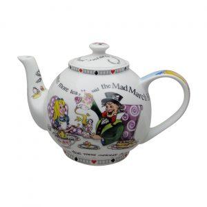 Alice in Wonderland 4 Cup Teapot by Paul Cardew