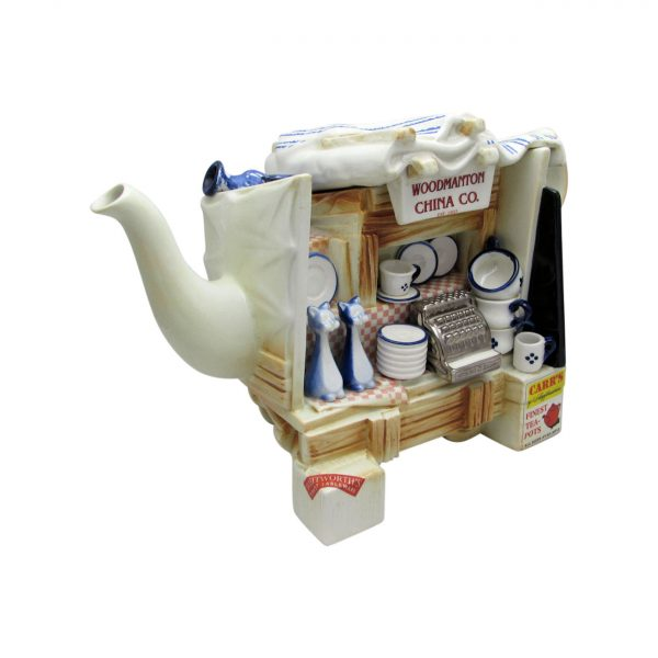 Woodmanton China Stall Teapot by Paul Cardew