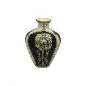 Peony Design Small Vase by Cobridge Stoneware.