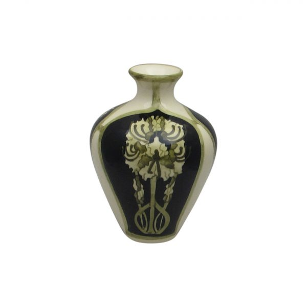Peony Design Small Vase by Cobridge Stoneware.