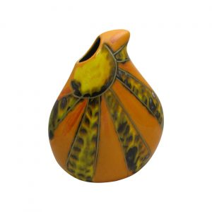 Sunfire Design Teardrop Vase by Anita Harris Art Pottery