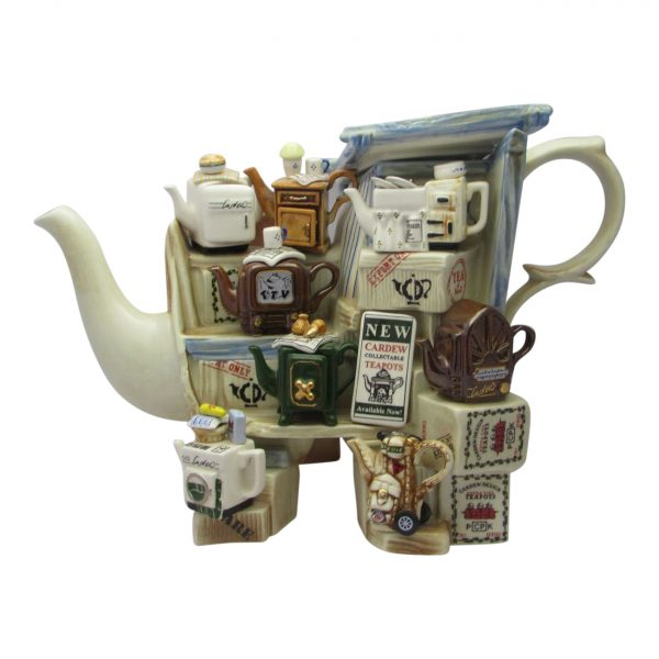 Teapottery Teapot Stall Novelty Teapot Paul Cardew Designs